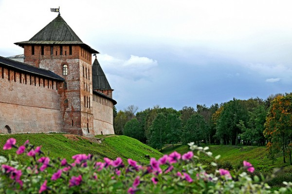 The Kremlin of Veliki Novgorod